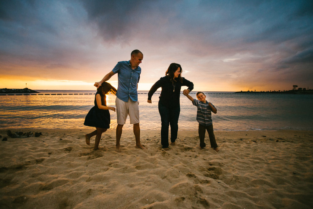 Best Okinawa family portrait photographer Asia