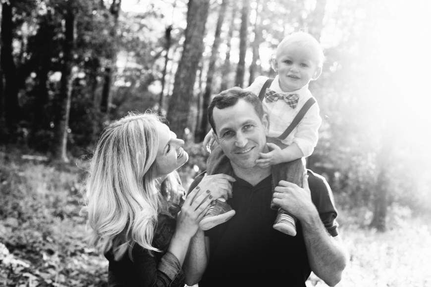 A dog and his family {North Carolina Golden Hour Family Portraits}