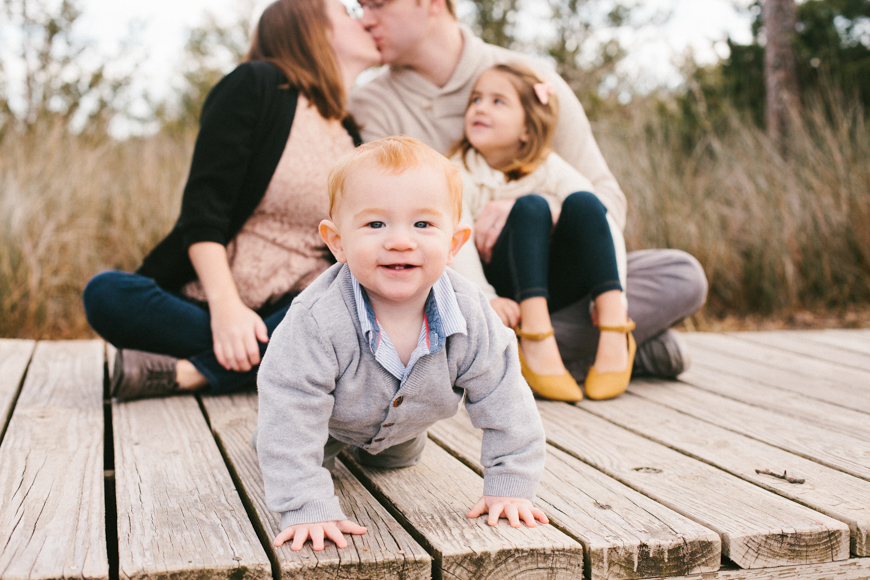 This little guy stole my heart! {Topsail Beach Family Portraits}