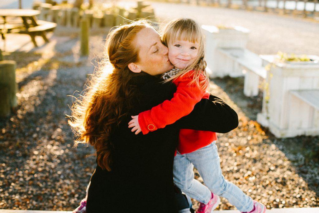 Lifestyle Family Portraits {soundside park surf city north carolina}