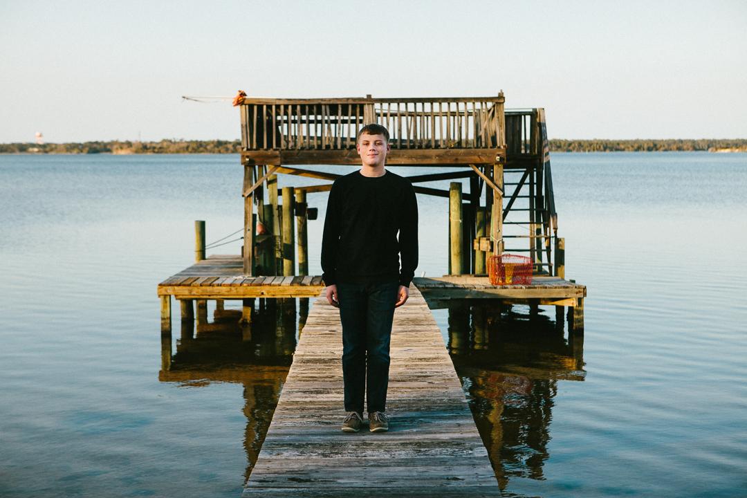 Best Topsail Beach portrait photographer North Carolina