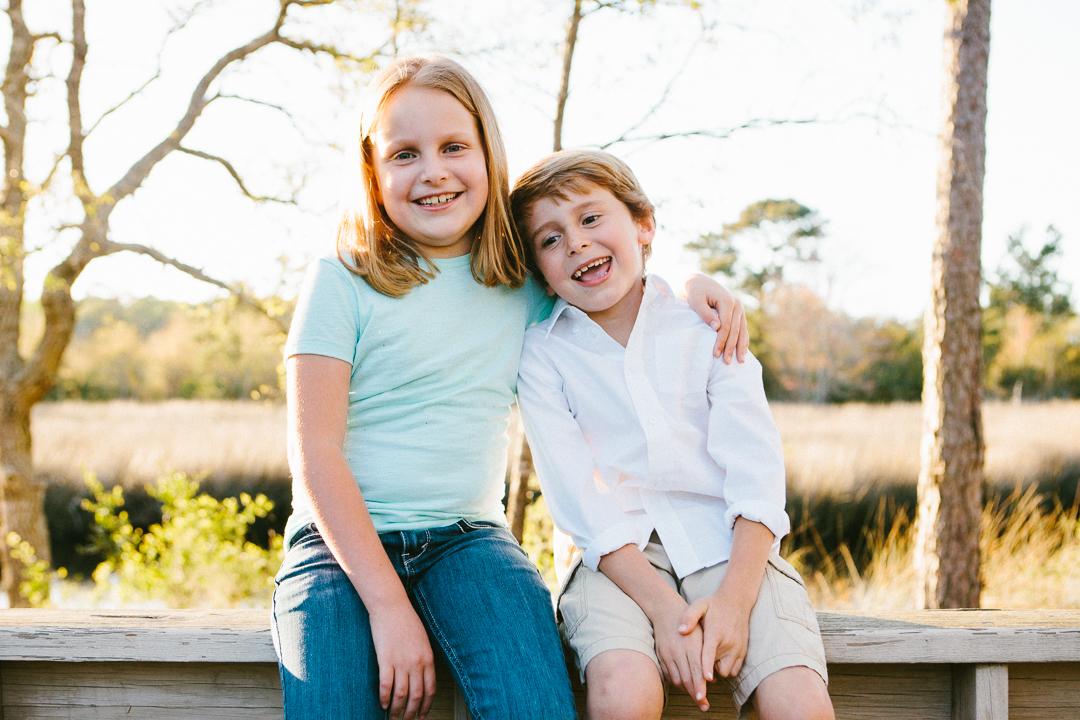 Best Topsail Beach family portrait session photographer North Carolina