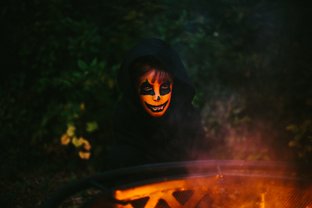 Best Topsail Beach family halloween lifestyle portrait photographer North Carolina